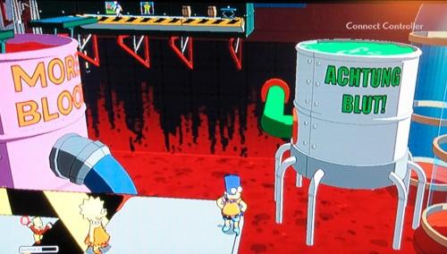 Die Simpsons: Achtung Blut
