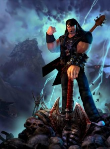 Eddie Riggs gespielt von Jack Black in BRÜTAL LEGENDS