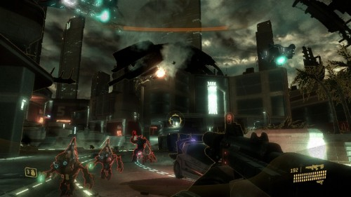 Screenshot HALO 3 ODST: VISR-Sicht eingeschaltet