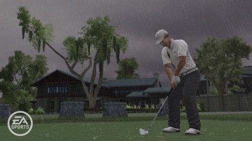 Im Regen (TIGER WOODS PGA TOUR 10)