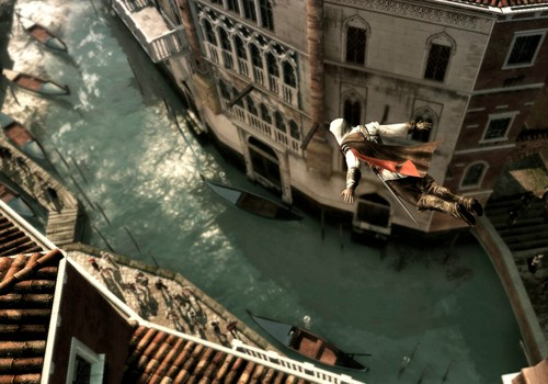 Screenshot aus ASSASSINS CREED II - Klick startet den Launch-Trailer in HD