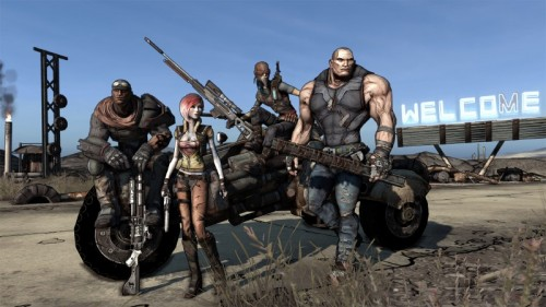 Screenshot BORDERLANDS: Ein gutes Team! (Quelle: www.borderlandsthegame.com)