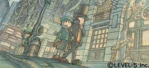 Professor Layton and the Last Time Travel