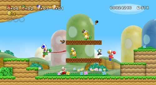 New Super Mario Bros. Wii: Achja, Yoshi gibt es ja auch