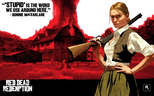 Red Dead Redemption: Bonnie MacFarlane (Rockstar Games)