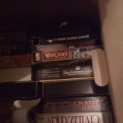 In den Keller / Umzugskartons verbannt: PC-Spiele
