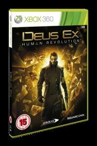 Deus Ex: Human Revolution Xbox 360 Packshot