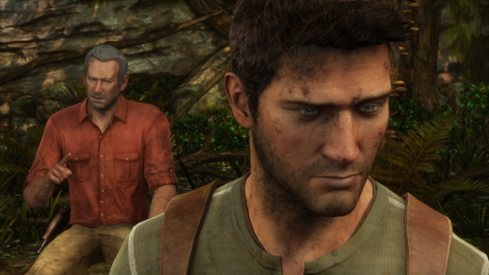Uncharted 3: Mit Sully im Wald