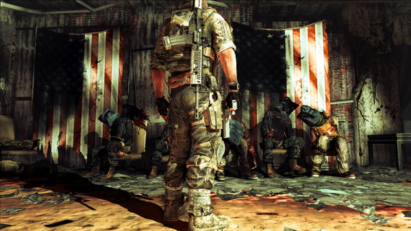 "The star-spangled banner (<a href=""http://www.specopstheline.com"">Spec Ops: The Line</a>)"