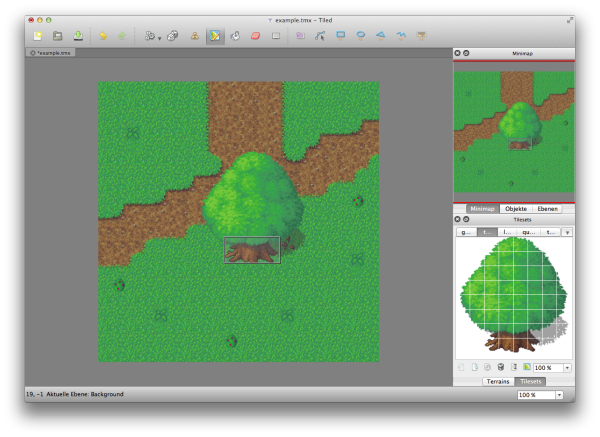 Tiled Map Editor 0.9.0