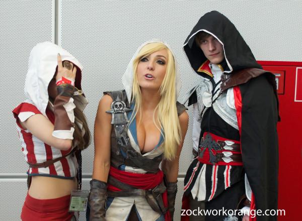 Jessica Nigri - Assassin's Creed - gamescom