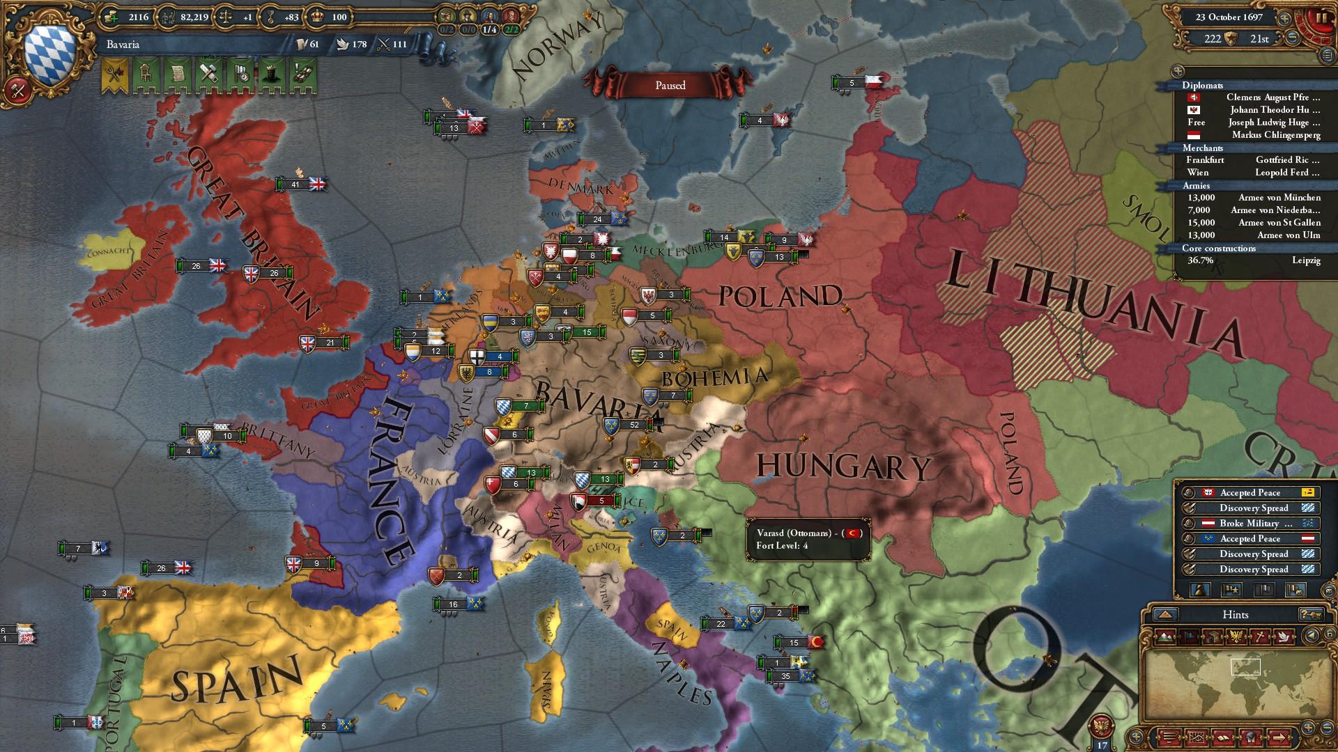 Bayern im Machtrausch