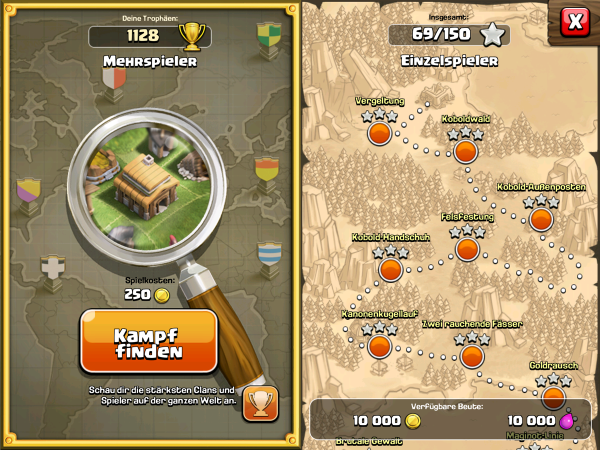 Clash of Clans: Multiplayer & Solokampagne