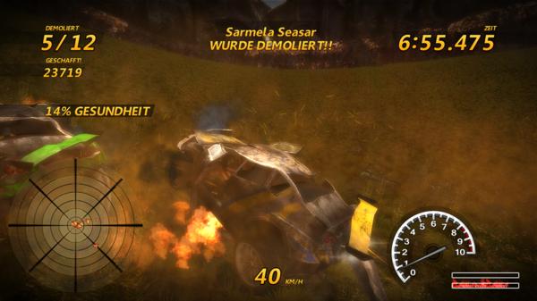 Flatout 3: Feuer unter'm Arsch!