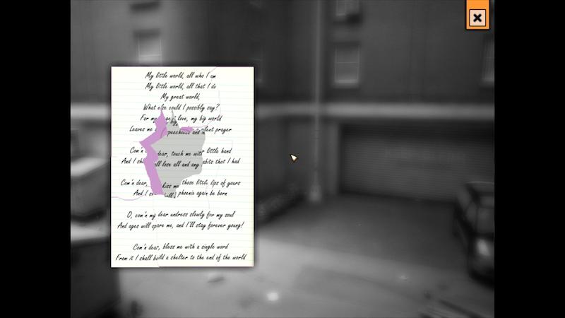 Lyrics puzzlen: Ich hoffe, das Bild ist klein genug, damit ihr den Schund nicht lesen könnt