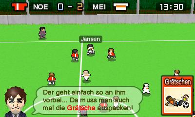 Nintendo Pocket Football Club Spielszene