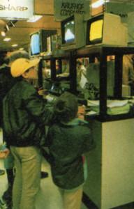 Bild 3: Q*Bert und Co. im Kaufhaus.