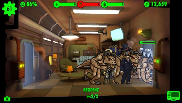 Fallout Shelter: Angriff der Todeskrallen