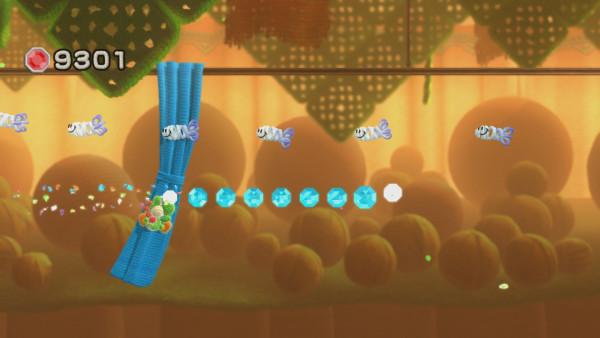 Screenshot Yoshi's Wooly World WiiU Geister