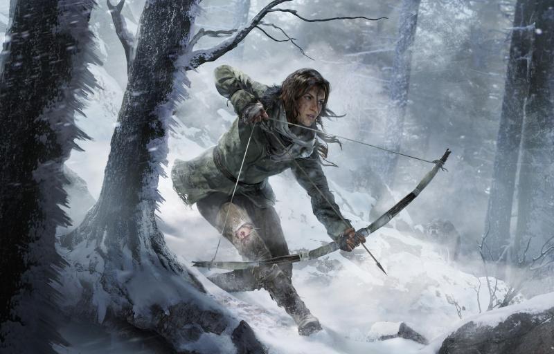 Lara und ihr Bogen (Artwork)