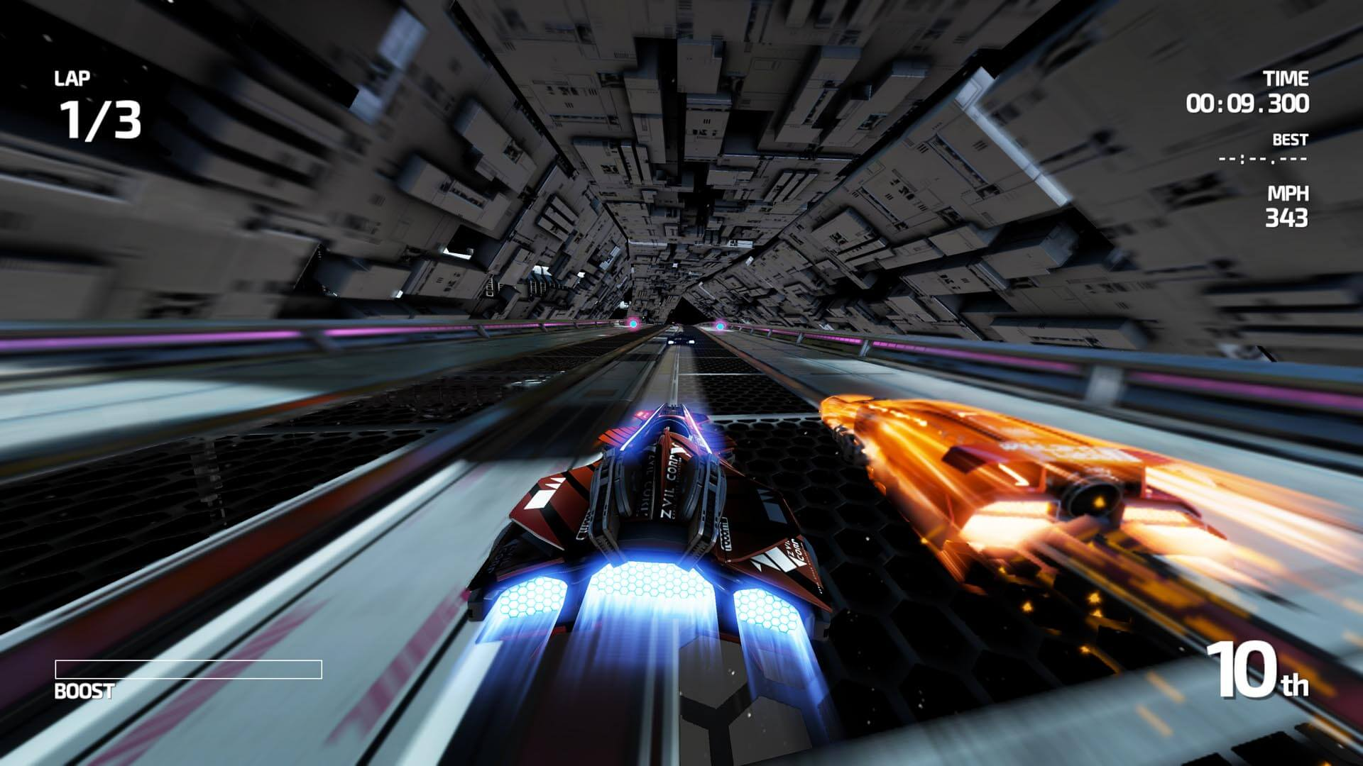 Screenshot: Fast Racing Neo