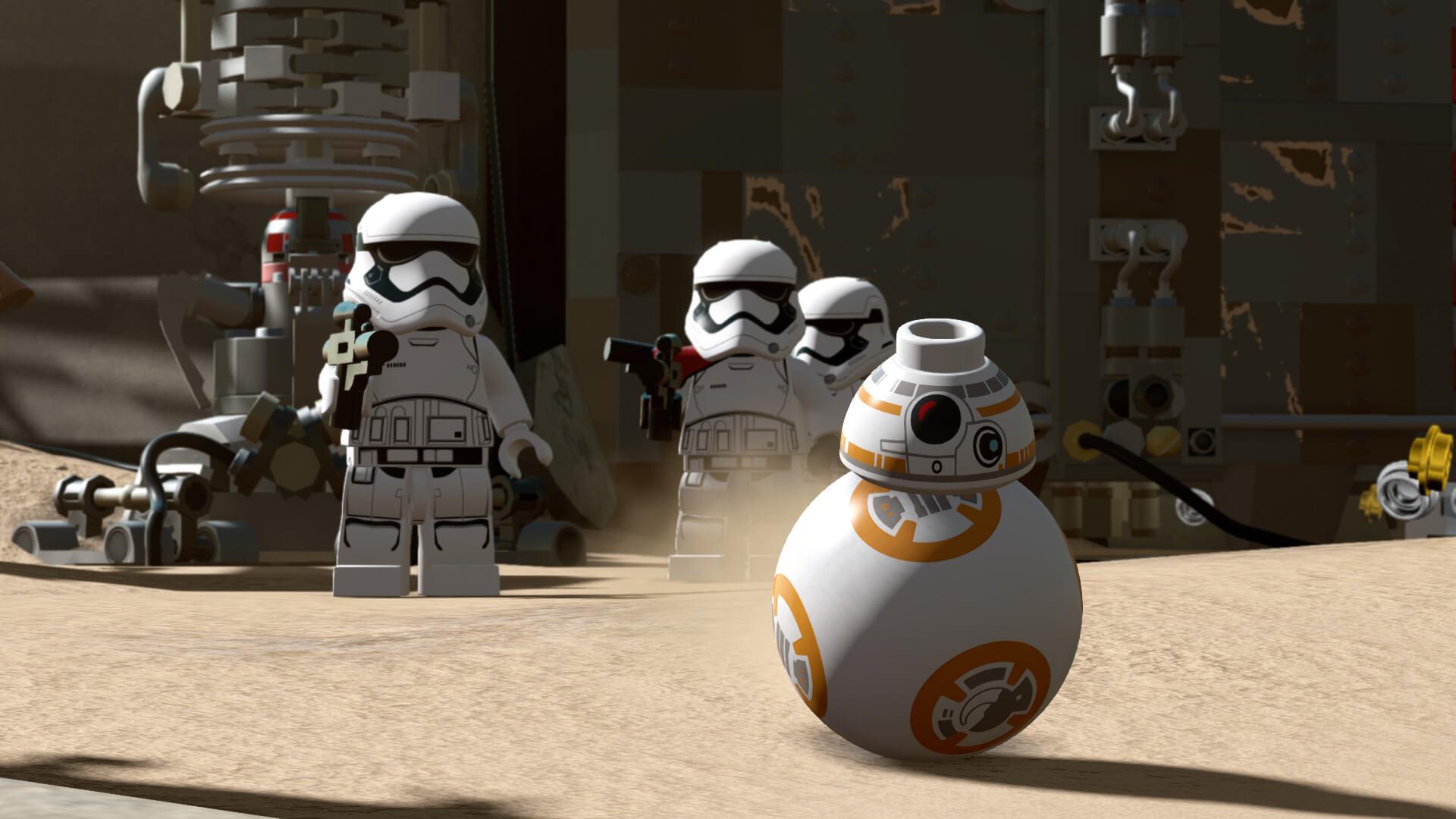 Lego Star Wars: Das Erwachen der Macht - BB-8 und Stormtrooper