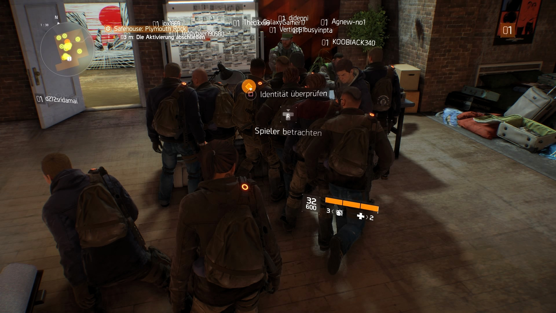 Safe house Chaos in Tom Clancy's The Division
