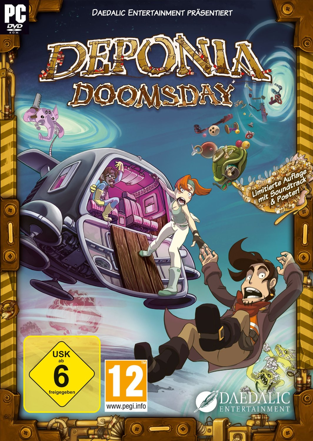 Deponia Doomsday - Retail-Version