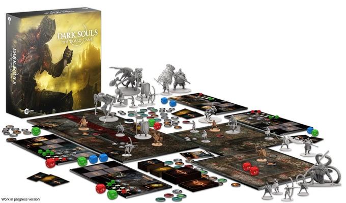 Dark ouls Brettspiel - Kickstarter