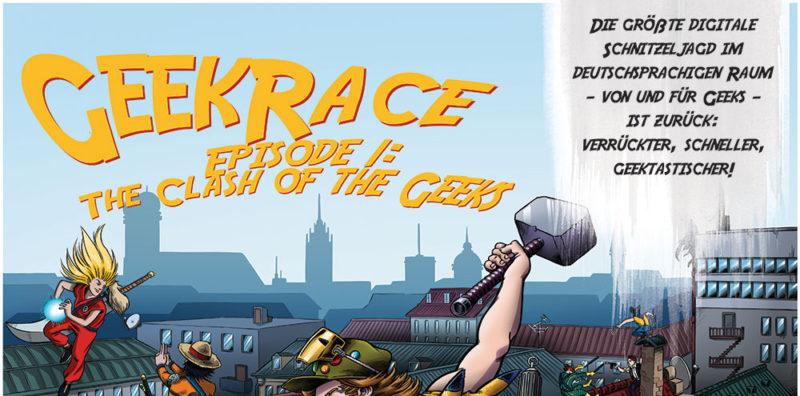 GeekRace Poster Promo