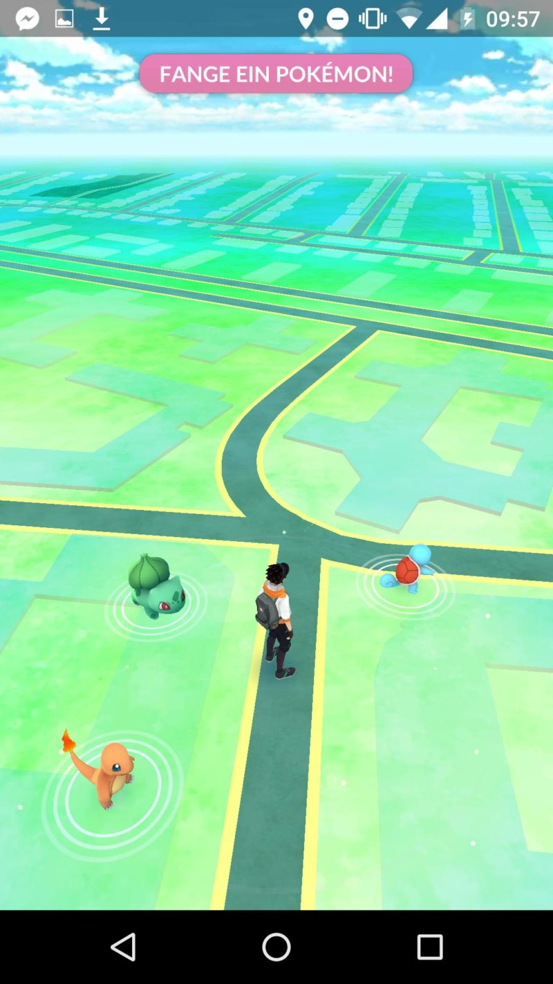 Pokemon Go Map Screenshot