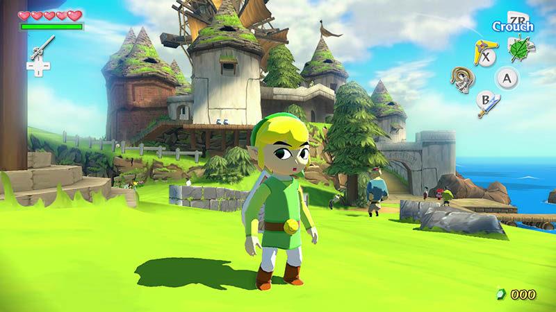 Wii U Zelda Wind Waker