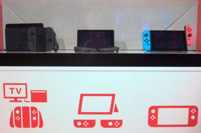 Nintendo Switch Event München: die Konsole