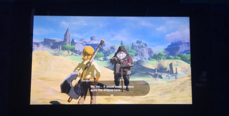 Nintendo Switch Zelda Breath of the Wild angespielt
