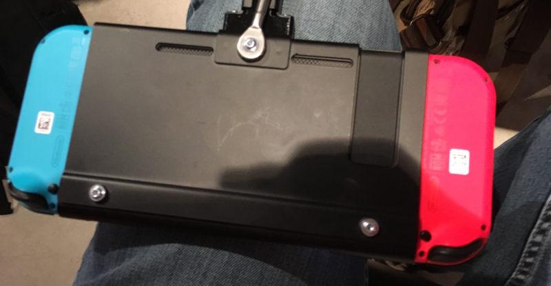 Nintendo Switch Controller Rückseite