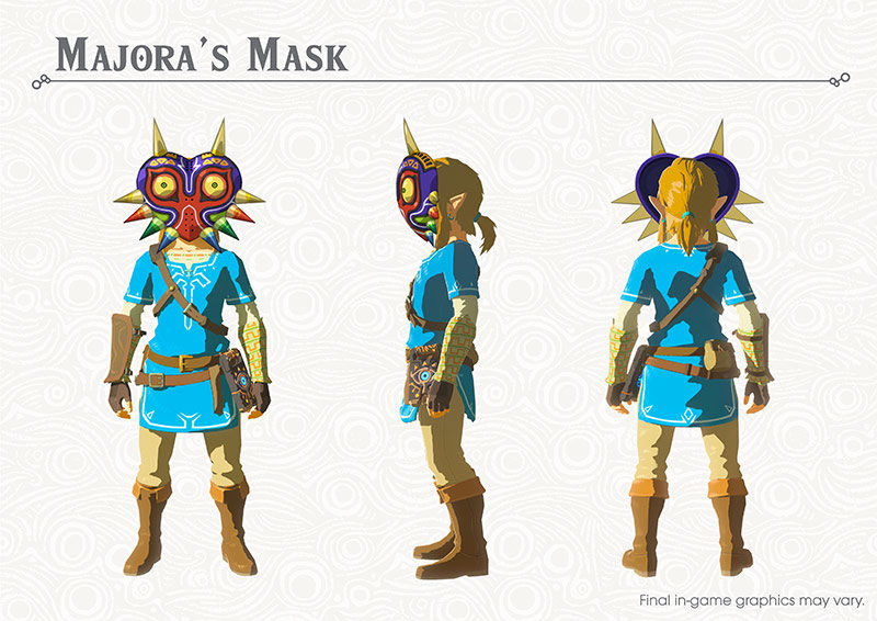 Breath of the Wild DLC: Majora's Mask