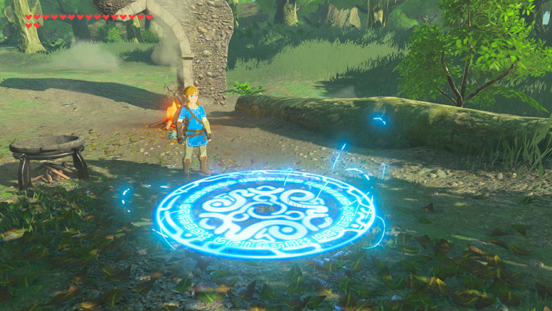 Breath of the Wild DLC: Teleport Medaillon