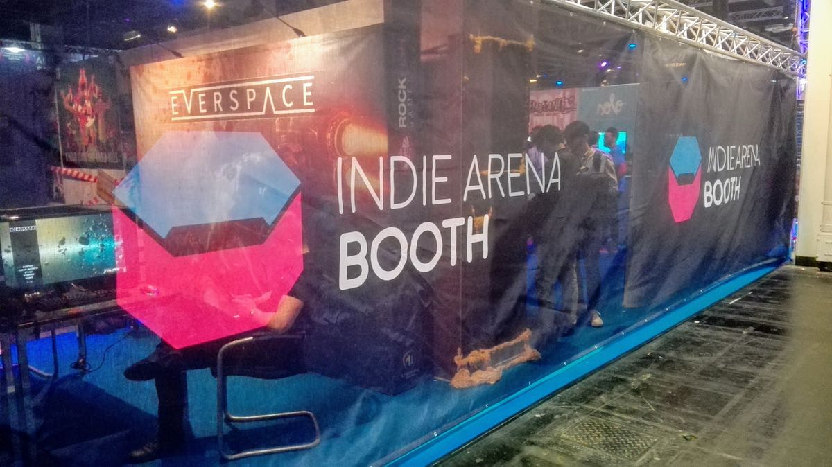 Indie Arena Booth 2017