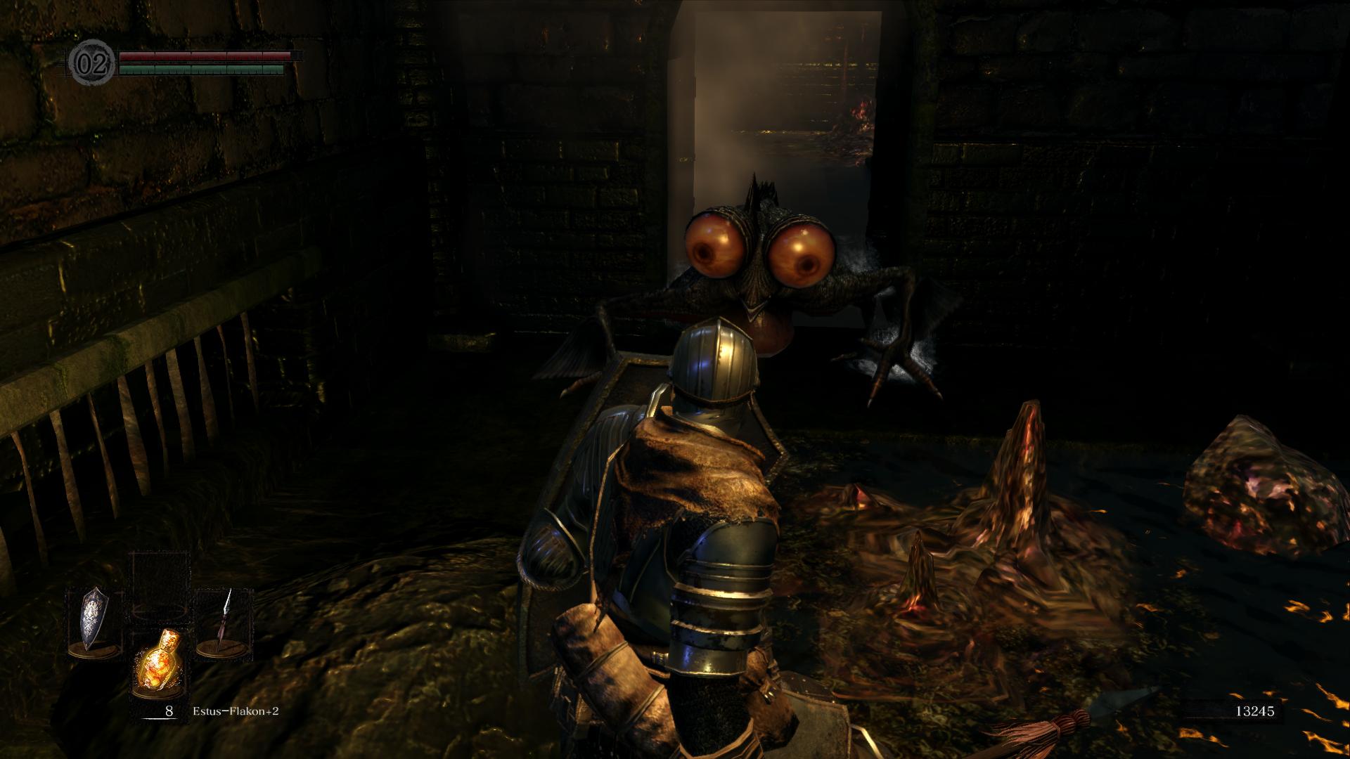 Dark Souls Remastered Screenshot Basilisk