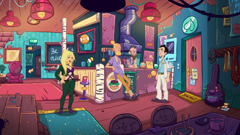 Leisure Suit Larry: Wet Dreams Don't Dry Screenshot
