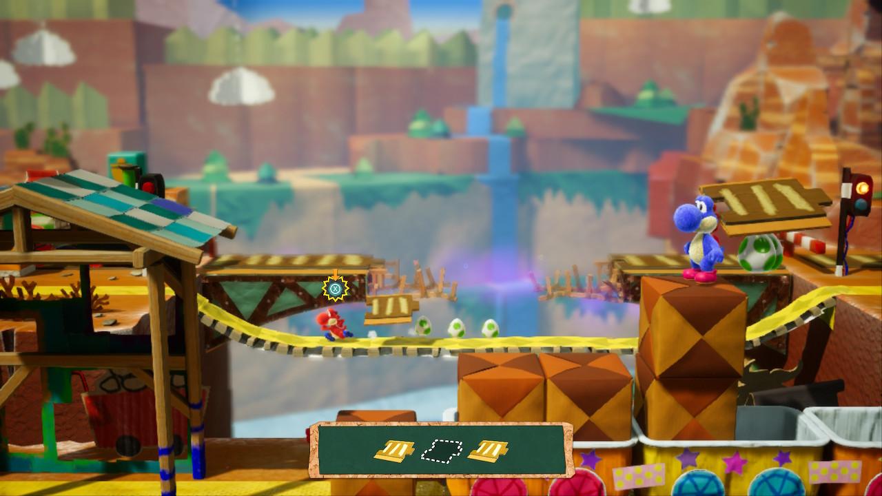 Yoshi's Crafted World Screenshot 01
